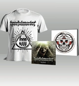 KIT Camiseta + CD Red Eyes + CD No Peace - Hatefulmurder - HFKIT0004 - comprar online