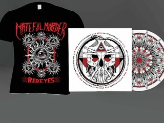 KIT Camiseta + CD Red Eyes - Hatefulmurder - HFKIT0002