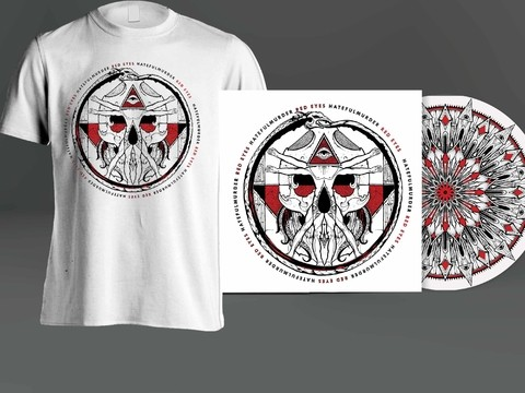 KIT Camiseta + CD Red Eyes - Hatefulmurder - HFKIT0001 - comprar online