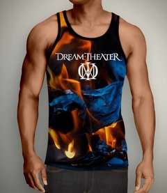 Regata Masculina Dream Theater - Linha Digital - DT0002REdig