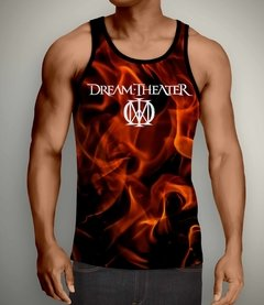 Regata Masculina Dream Theater - Linha Digital - DT0002REdig - ZN STORE