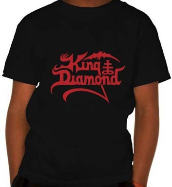 Camiseta Infantil King Diamond KI0003i