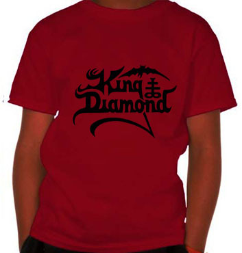 Camiseta Infantil King Diamond KI0002i  na internet