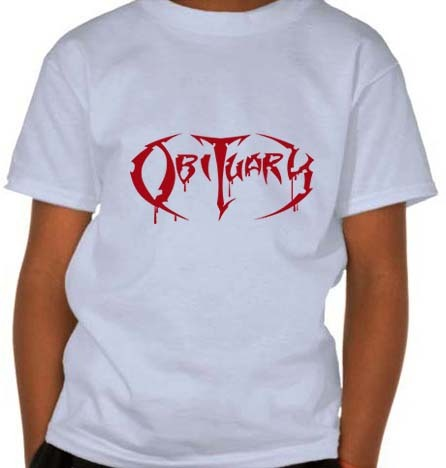 Camiseta Infantil Obituary - OB0003i  na internet