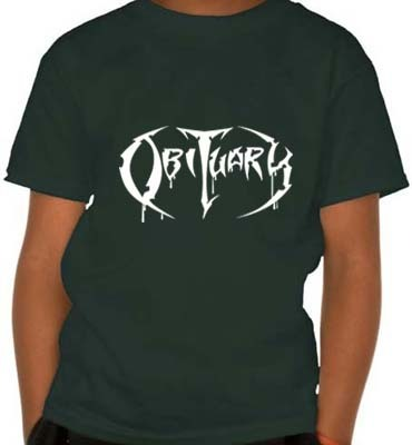 Camiseta Infantil Obituary OB0001i  na internet