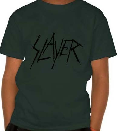 Camiseta Infantil Slayer SL0002i - ZN STORE