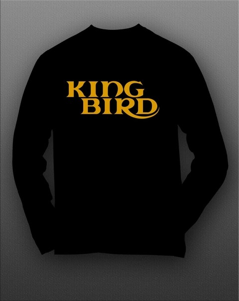 Camiseta manga longa King Bird - KBML0001 na internet