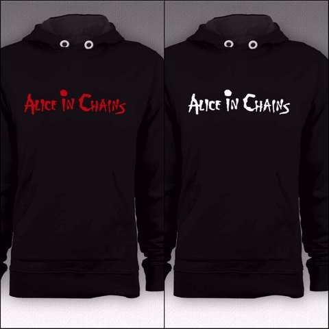 Moletom Canguru Alice In Chains - ASMO0002