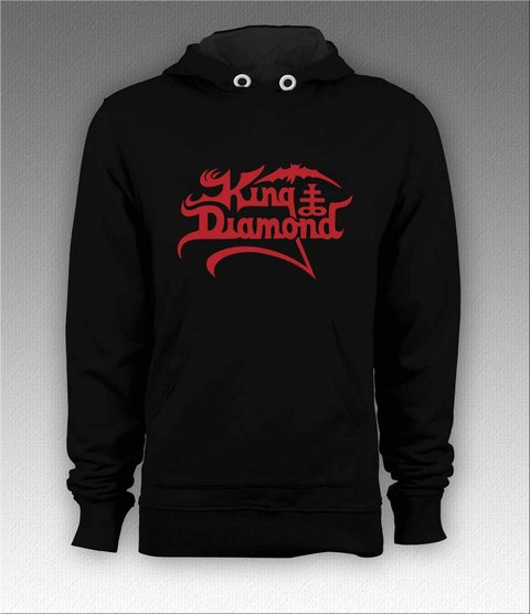 Moletom Canguru King Diamond - KIMO0002