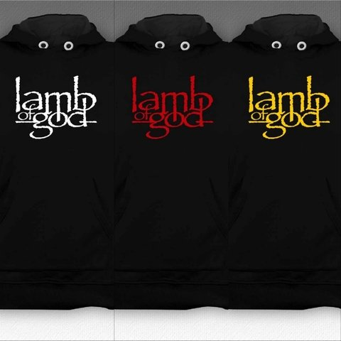 Moletom Canguru Lamb of God - LAMO0001