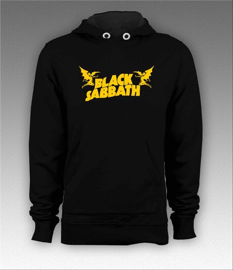 Moletom Canguru Black Sabbath - BSMO0003