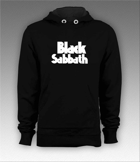 Moletom Canguru Black Sabbath - BSMO0002 na internet