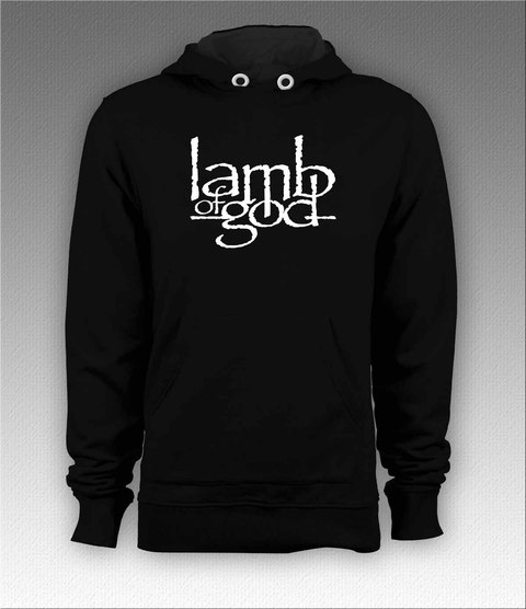 Moletom Canguru Lamb of God - LAMO0001 - comprar online