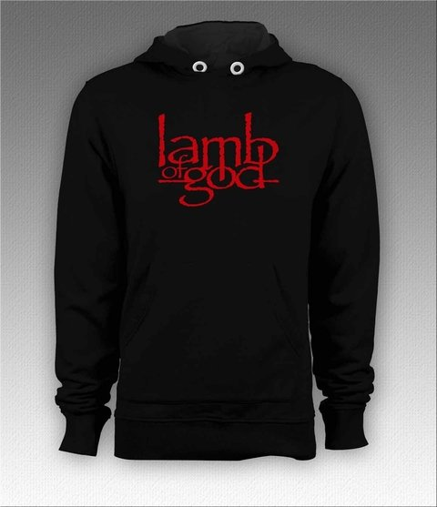 Moletom Canguru Lamb of God - LAMO0001 - ZN STORE