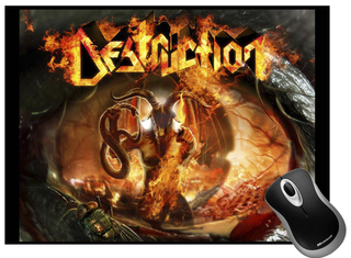 Mousepad Destruction DSMP0004 - comprar online
