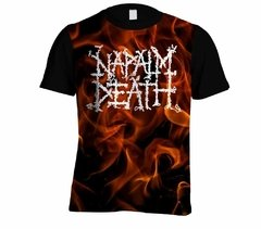 Camiseta Napalm Death - Linha Digital - ND0001cdig​ - ZN STORE