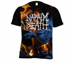 Camiseta Napalm Death - Linha Digital - ND0001cdig​