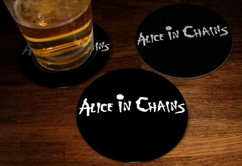 Kit - Bolacha de Chopp Alice in Chains- ASBC0003 - comprar online