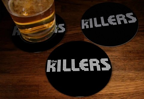 Kit - Bolacha de Chopp The Killers - TKBC0007 - comprar online