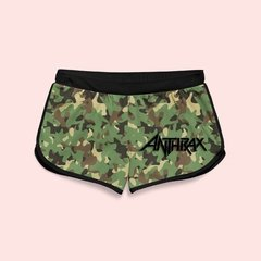 Shorts Boxer Feminino Anthrax - AN0001SH
