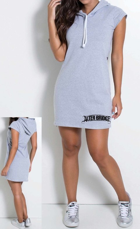 Vestido de Moletim Alter Bridge - VEAB0001
