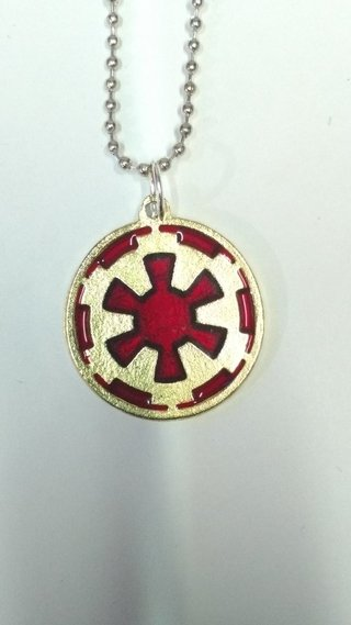 DIJE COLLAR DE STAR WARS