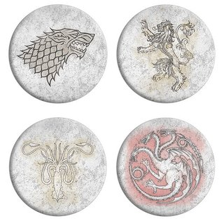 Set de Pin de Game of Thrones