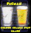 COLOUR CHANGE PINT GLASS PACMAN