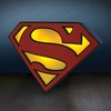 Superman logo light - Lampara