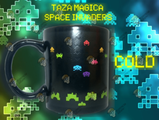 TAZA MAGICA SPACE INVADERS
