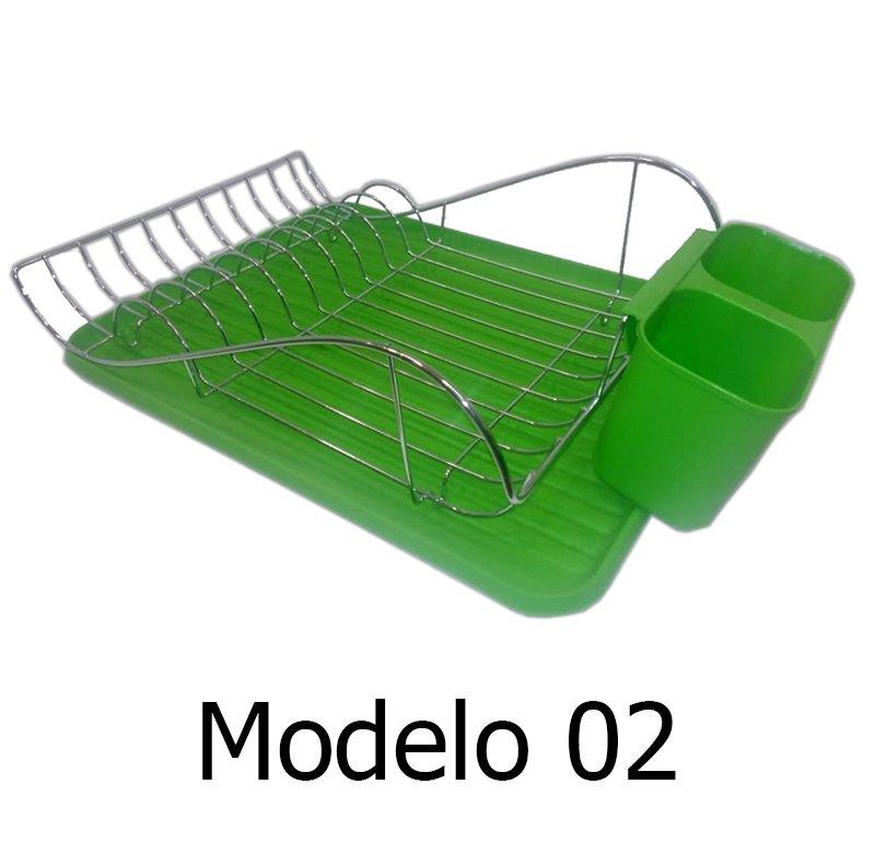 Secaplatos Escurridor Metálico c  Bandeja Plástica f61f4cee9b7d