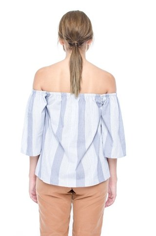 Camisa Felice Off Shoulder en internet