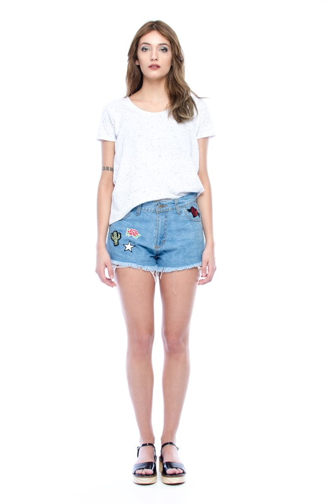 Short con Parches