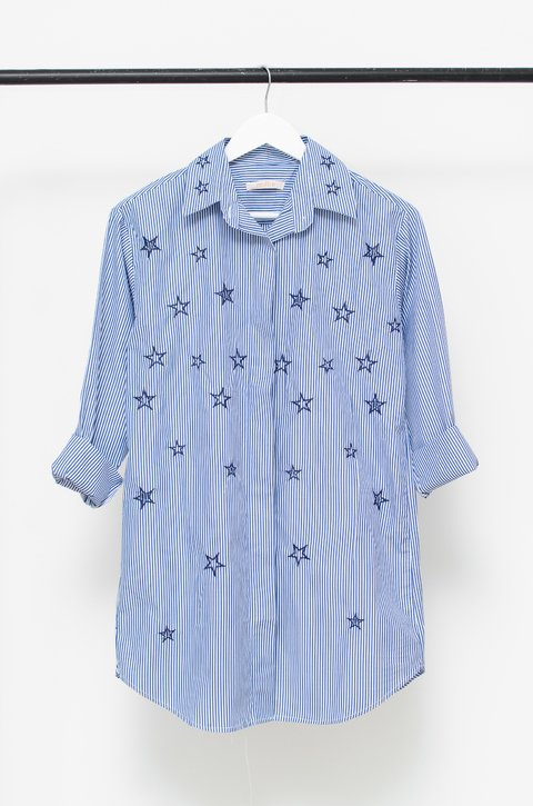 Camisa Beattle Blue - comprar online