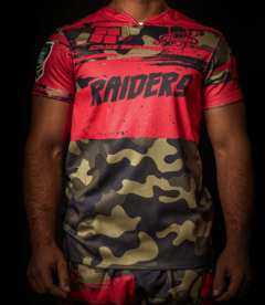 Camiseta Rugby RAIDERS