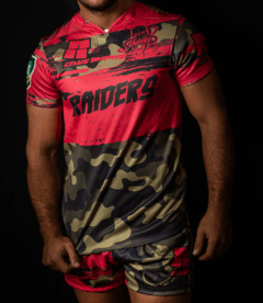 Short Rugby RAIDERS - CAYS Rugby -Tienda Online-