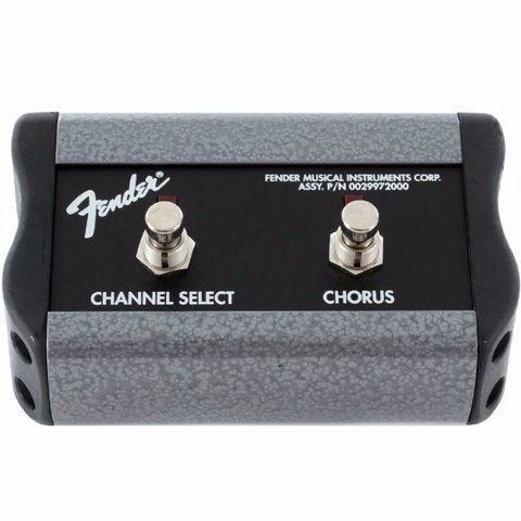 Footswitch Fender 2 Botones Channel/chorus