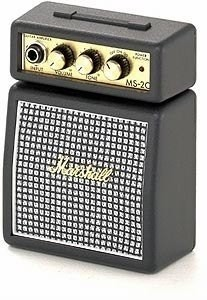 Amplificador Guitarra Mini Amp Marshall Ms2-ms2c