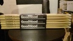 Palillos Goodwood 5a, 5b Y 7a Punta Nylon X Par By Vater