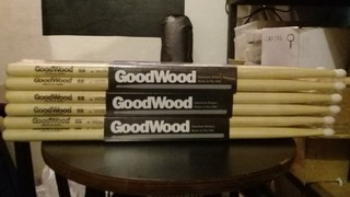 Palillos Goodwood 5a, 5b Y 7a Punta Nylon X Par By Vater en internet