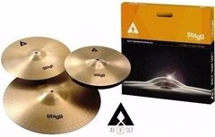 Set De Platillos Stagg Axk 14 Hi Hat+16 Crash+20 Ride
