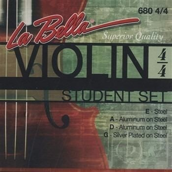 Encordado Violín 4/4 La Bella 680 Student Set - Usa