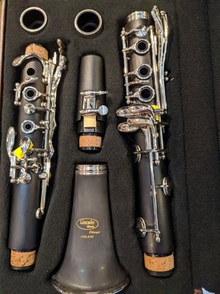 Clarinete Lincoln Winds Lccl 612e - tienda online