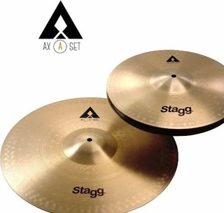 Set De Platillos Stagg Axa Hi Hat 13 + Crash 16 - comprar online
