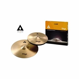 Set De Platillos Stagg Axa Hi Hat 13 + Crash 16