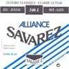 Encordado De Guitarra Criolla Savarez 540j Alliance Ht Tensión Alta