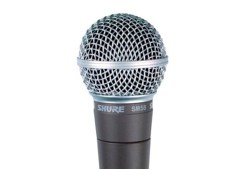 Microfono Vocal Dinámico Shure Sm58-lc Sin Cable