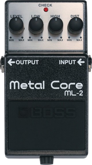 Pedal Boss Metal Core Ml-2
