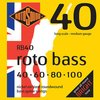 Encordado De Bajo Rotosound Roto Bass Rb40