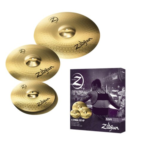 Set Platillos Zildjian Planet Z4, Hh14, Cr 16, Ride 20